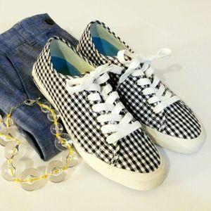 💎NWOB SeaVees Gingham Monterey Sneaker Americana